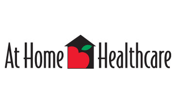... At Home Health Care Logo Design ...