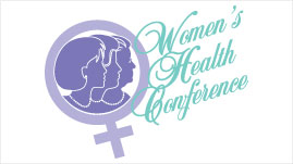 Women's Health Conference logo design